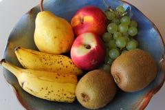 Bacia de frutos Imagens de Stock Royalty Free