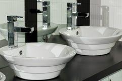 Bacia de lavagem Foto de Stock Royalty Free