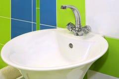 Bacia de lavagem Imagem de Stock Royalty Free
