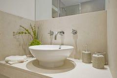 Bacia de lavagem da mão Imagem de Stock Royalty Free
