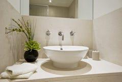 Bacia de lavagem da mão Foto de Stock Royalty Free