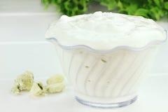 Bacia de limpeza de salada Foto de Stock Royalty Free