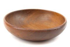 Bacia de madeira Imagem de Stock Royalty Free