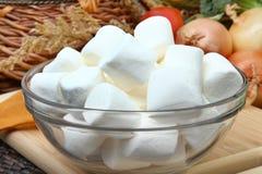 Bacia de marshmallows fotos de stock royalty free
