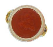 Bacia de molho de taco Imagem de Stock Royalty Free