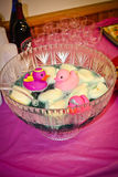 Bacia de perfurador da festa do bebê Imagem de Stock Royalty Free