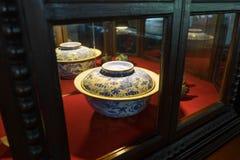Bacia de porcelana chinesa Imagem de Stock Royalty Free