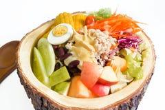 Bacia de salada Fotografia de Stock