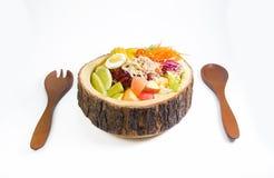 Bacia de salada Imagem de Stock