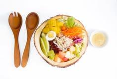 Bacia de salada Imagem de Stock Royalty Free
