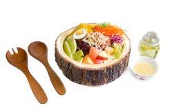 Bacia de salada Fotografia de Stock Royalty Free