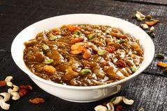Bacia de sobremesa delecious Ada Pradhaman ou de payasam, Fotos de Stock Royalty Free