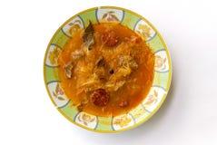 Bacia de sopa da couve Imagens de Stock