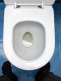 Bacia de toalete Fotos de Stock