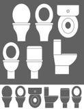Bacia de toalete Imagem de Stock