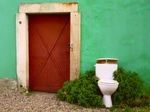 Bacia de toalete Fotografia de Stock