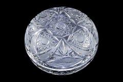 Bacia de vidro Fotografia de Stock