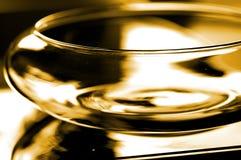 Bacia de vidro imagens de stock royalty free