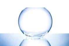 Bacia de vidro imagem de stock