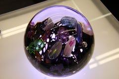 Bacia de vidro colorida Imagem de Stock Royalty Free