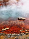 Bacia do geyser imagem de stock royalty free