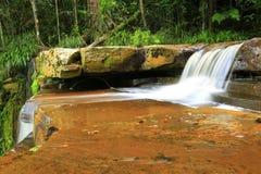 Bacia do maliu da cachoeira de Giluk imagem de stock royalty free