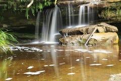 Bacia do maliu da cachoeira de Giluk foto de stock royalty free