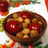 Bacia do Natal imagens de stock royalty free
