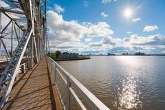 Bacia do porto de Duluth imagem de stock