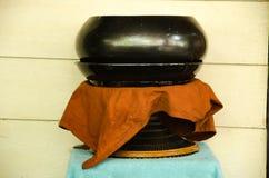 Bacia dos alms da monge s Fotografia de Stock
