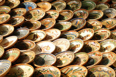 Bacia Hand-made de Maramures. Imagens de Stock
