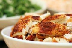 Bacia temperada da galinha Fotos de Stock Royalty Free