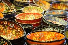 Bacia turca típica Fotografia de Stock