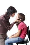 Baciare Fotografia Stock Libera da Diritti