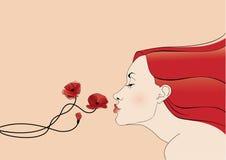 Baciare fiore Fotografie Stock