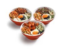 Bacias coreanas do alimento Foto de Stock Royalty Free