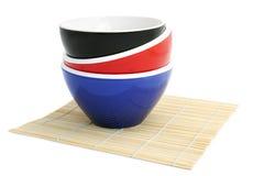 Bacias de arroz Imagens de Stock Royalty Free