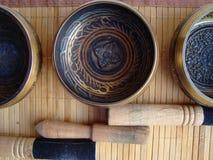 Bacias de Tibet Fotos de Stock Royalty Free