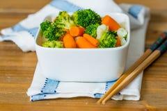 Bacias de vegetais da variedade Fotos de Stock