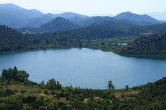 Bacina湖在克罗地亚 免版税图库摄影