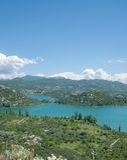 Bacina Seen, Makarska Riviera, Dalmatien, Kroatien Lizenzfreie Stockfotos
