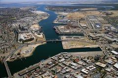 Bacini di Adelaide del porto aereo Fotografia Stock Libera da Diritti