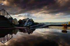 Bacini dopo la tempesta Fotografia Stock Libera da Diritti