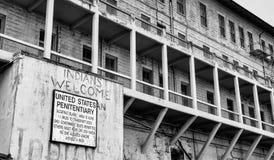 Bacini storici di Alcatraz Immagine Stock Libera da Diritti