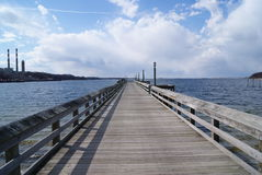 Bacino del Long Island Fotografie Stock Libere da Diritti