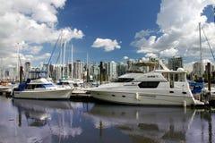Bacino dell'yacht Immagini Stock Libere da Diritti