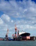 Bacino di carenaggio a Gothenburg 02 fotografie stock libere da diritti