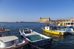 Bacino di Kadikoy, Costantinopoli Fotografie Stock Libere da Diritti