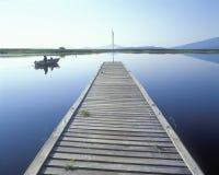Bacino di pesca, lago Klamath, O Fotografia Stock