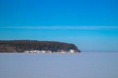 Bacino idrico del ghiaccio Fotografia Stock